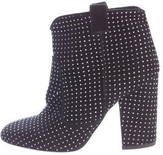 Laurence Dacade Belen Studded Ankle Boots $295 thestylecure.com