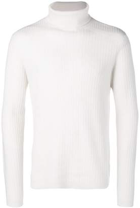 Theory roll neck knitted sweater