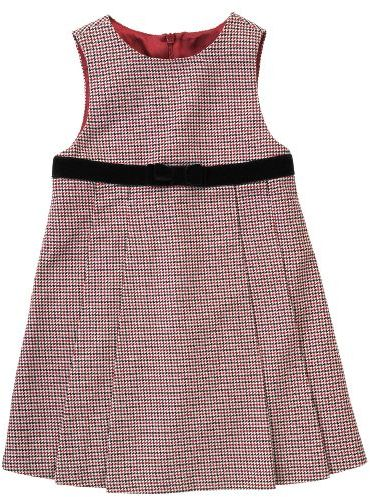 Houndstooth Pleated Jumper