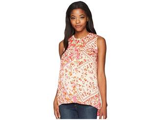 Ellen Tracy Sleeveless Two-Pocket Shirt Women's Sleeveless
