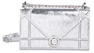 Christian Dior Metallic Diorama Bag