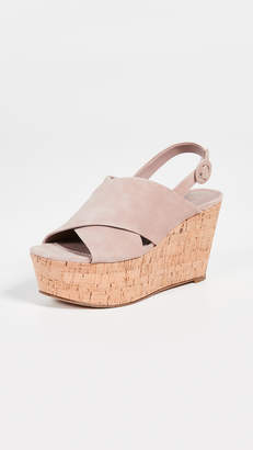 Diane von Furstenberg Juno Wedge Sandals