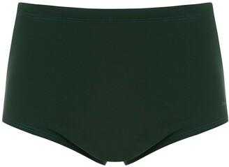 OSKLEN striped swimming trunks