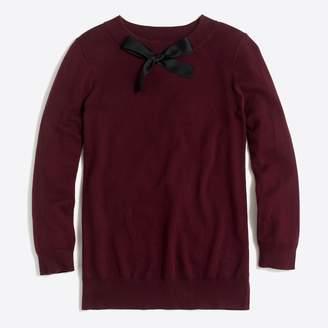 J.Crew Factory Bow-neck sweater