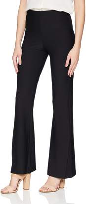 Lysse Women's Flare Slit Stretch Crepe Pant