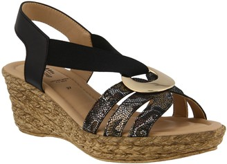 Spring Step Leather Slingback Sandals - Misi