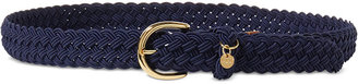 Lauren Ralph Lauren Woven Stretch Belt $38 thestylecure.com