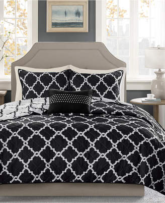 Madison Park Essentials Merritt Reversible 4-Pc. King/California King Coverlet Set Bedding
