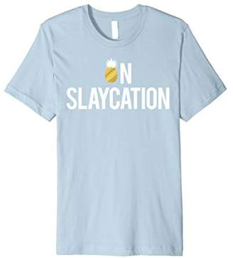 Pineapple On Slaycation Graphic Premium T-Shirt