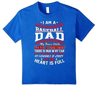 Baseball Dad T Shirts - Best Gift For Mom Dad