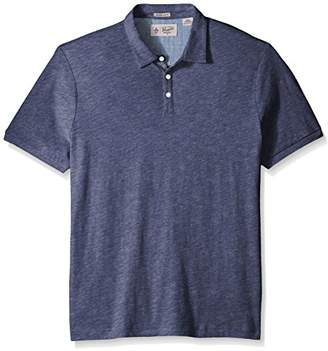 Original Penguin Men's Short Sleeve Slub Jersey Polo Shirt