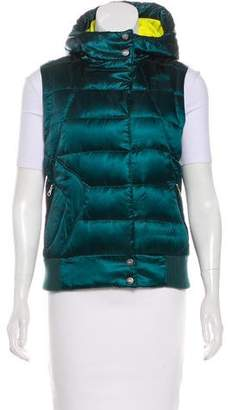 The North Face Hooded Quilted Vest