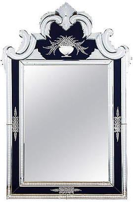 One Kings Lane Vintage 1960s Venetian Glass Mirror - Negrel Antiques