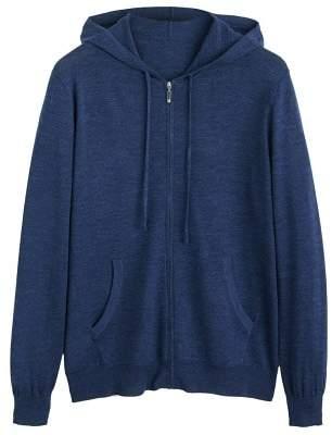 MANGO 100% Wool Cardigan