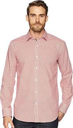 Bugatchi Men's Tappered Fit Lightweight Cotton Point Collar Shirt
