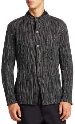 Issey Miyake Torus Raschel Reversible Jacket