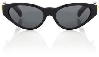 Versace V-Medusa cat-eye sunglasses