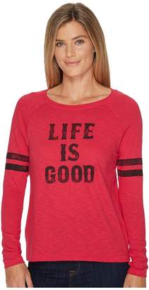 Life is Good Women's Long Sleeve Pullover