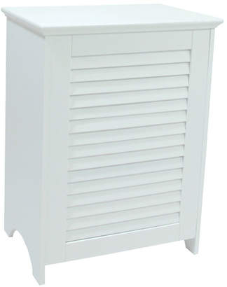 Redmon Louvered Front Cabinet Laundry Hamper