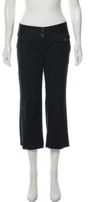 MICHAEL Michael Kors Pinstripe Cropped Pants
