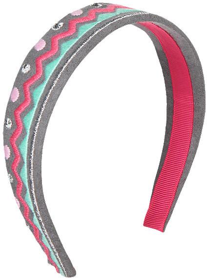 Gymboree Chevron Faux Suede Headband