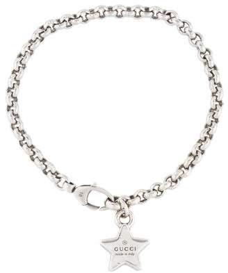 Gucci GG Trademark Star Charm Bracelet