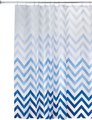 Famous Designer Ombre Chevron Shower Curtain
