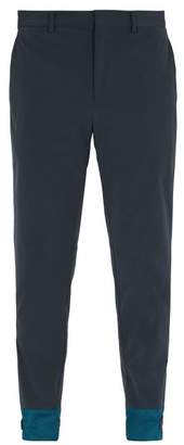 Prada Nylon Trousers - Mens - Blue Multi