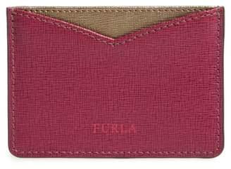 Furla Gioia Saffiano Leather Card Case