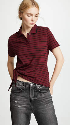 Alexander Wang Side Knot Polo Shirt