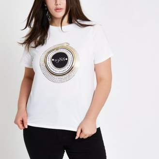 River Island Womens Plus '1988' short sleeve T-shirt