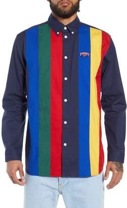 Tommy Jeans TJM Pieced Stripe Button Down Shirt