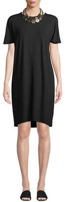Eileen Fisher Viscose Jersey Shift Dress