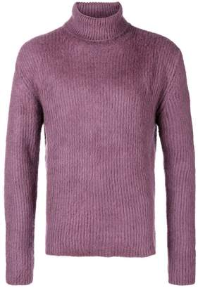 Paura roll-neck fitted sweater