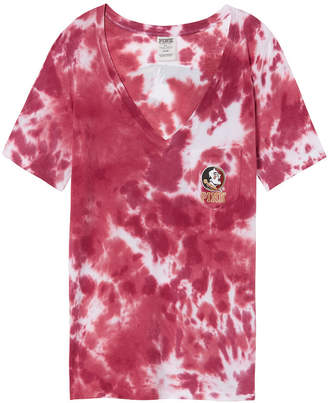 PINK Florida State University Perfect V-Neck Pocket Tee