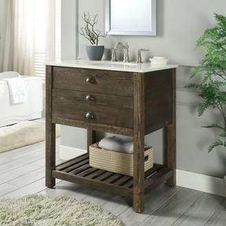 Mercer41 Ladwig 1 Drawer 30 Single Bathroom Vanity