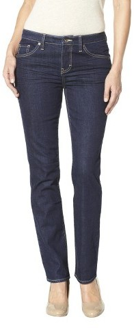 Merona Women's Straight Leg Jean (Curvy Fit) - Assorted Colors