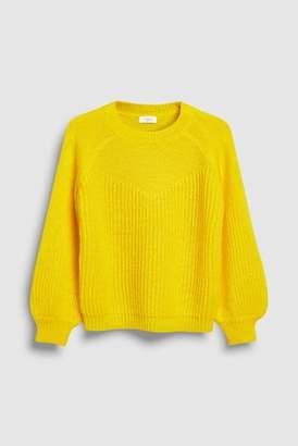Next Girls Yellow Sweater (3-16yrs)