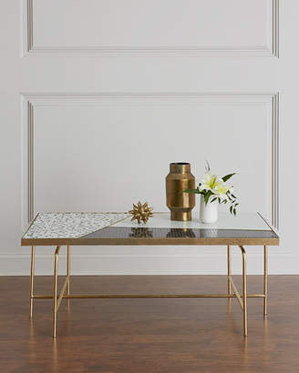 Global Views Dina Mosaic Tile Coffee Table