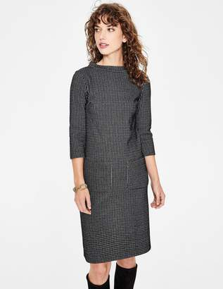 Boden Opal Jersey Jacquard Dress