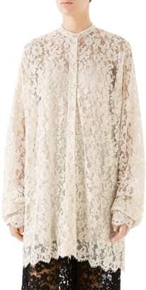 Gucci Scalloped Lace Dress