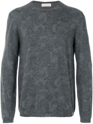 Etro stylized printed sweatshirt