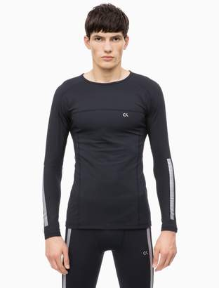 Calvin Klein Reflective Compression Long Sleeve Top