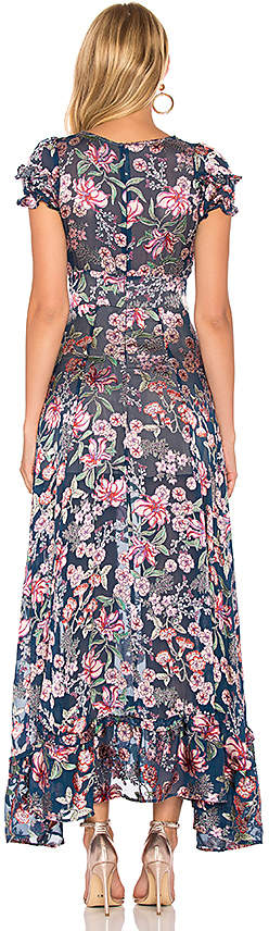 For Love & Lemons Flora Maxi Dress