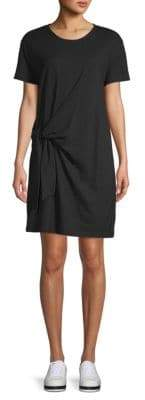 Vince Side Tie Cotton Dress