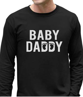 DAY Birger et Mikkelsen TeeStars Baby Daddy - Funny New Dad Father's Gift For New Father Long Sleeve T-Shirt