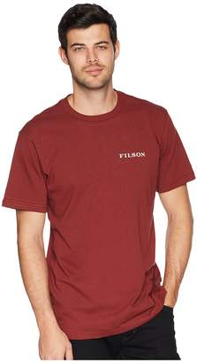 Filson Short Sleeve Outfitter Graphic T-Shirt Men's T Shirt