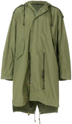 Miharayasuhiro loose fit parka coat