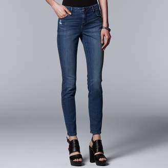 fc67d4789b9 Vera Wang Women s Simply Vera Everyday Luxury Skinny Jeans
