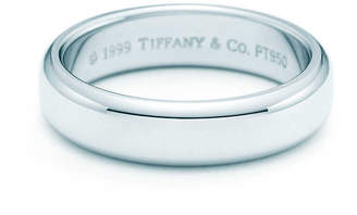 Tiffany & Co. ClassicTM wedding band ring